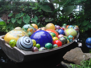 Dale Chihuly boat
